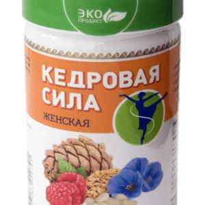Продукт белково-витаминный «Кедровая сила - Женская»