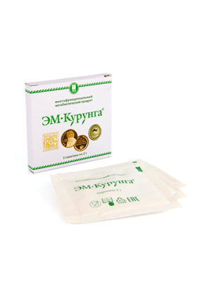 Продукт метабиотический «ЭМ-Курунга» порошок