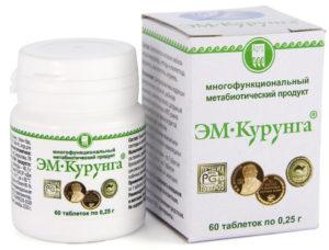 Продукт метабиотический «ЭМ-Курунга», таблетки