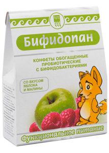 Конфеты обогащенные пробиотические «Бифидопан»