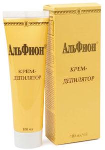 Крем-депилятор «Альфион»