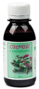 Сироп с хлорофиллом «Фитолон»