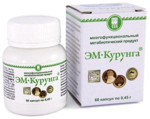 Продукт метабиотический «ЭМ-Курунга» капсулы