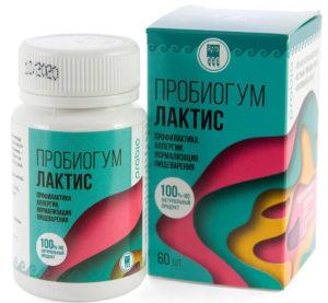 Пробиогум Лактис, таблетки, 60 шт