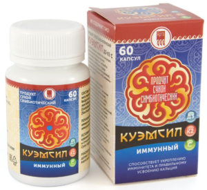 Продукт симбиотический «КуЭМсил D3, K2 иммунный»